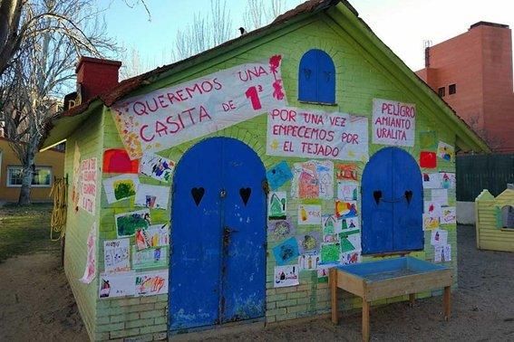 El Ayuntamiento de Leganés sigue sin retirar el amianto de la Escuela Infantil Jeromín