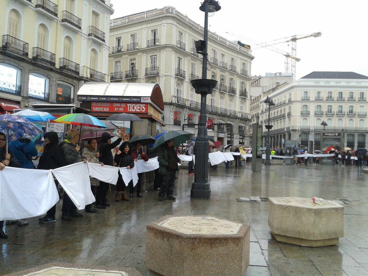 Acciones contra la privatización de la sanidad pública en el Día Mundial de la Salud