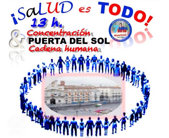 El 7 de abril, la Puerta del Sol acoge la III Jornada Internacional contra la Privatización Sanitaria