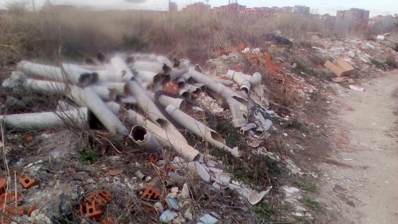 La asociación vecinal de Zarzaquemada presenta una propuesta de moción para erradicar el amianto en Leganés