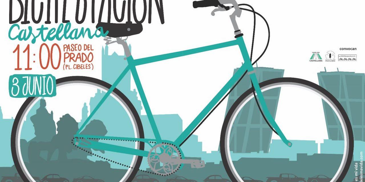 El domingo 3 de junio, pedalea por un carril bici en La Castellana…y otro en Barajas