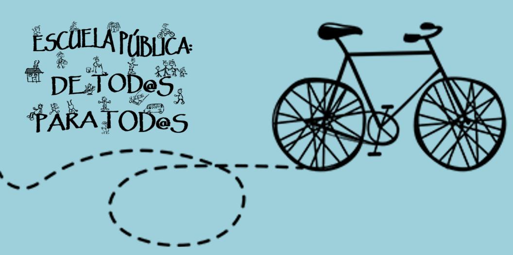 El 27-M, únete a las marchas en bici o a pie para reclamar equipamientos educativos públicos suficientes y de calidad