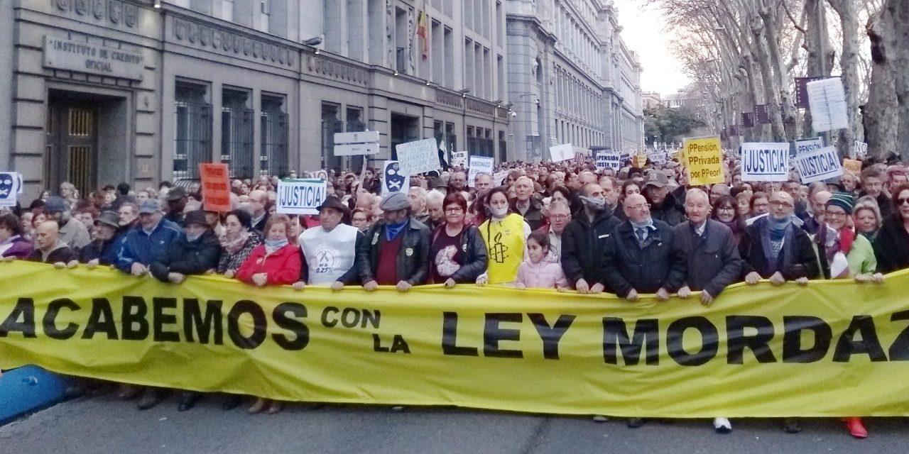 La FRAVM condena el uso reiterado de la vía judicial para acallar a las voces críticas