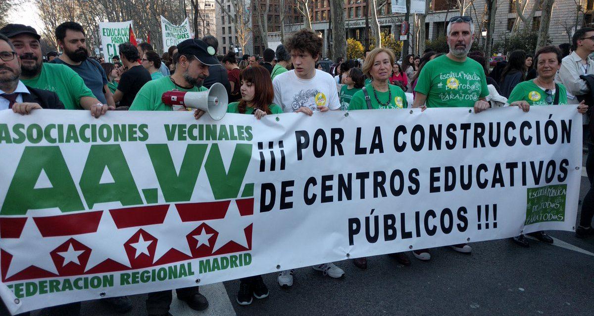 """8 de mayo: """"ya no hay excusas, ¡ahora educación pública!"""""""