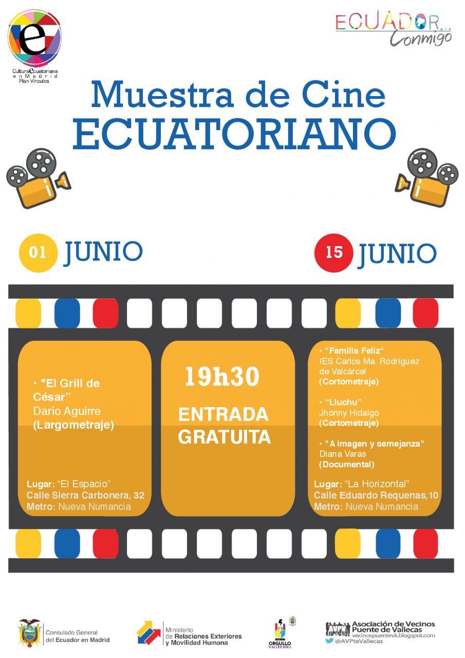 Muestra de cine ecuatoriano en Vallecas