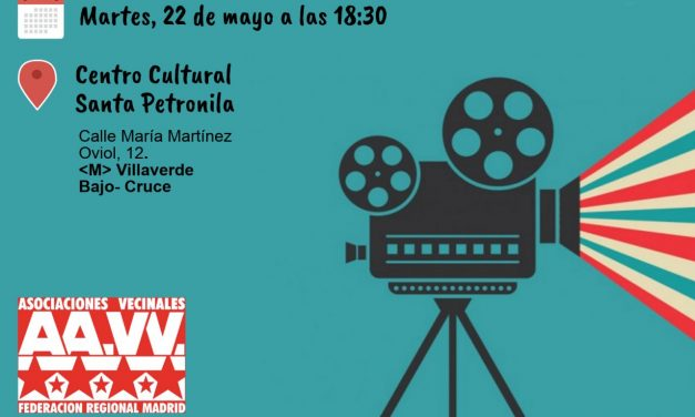 El 22 de mayo, la FRAVM expone los cortos de la II Muestra de Vídeos de Barrio