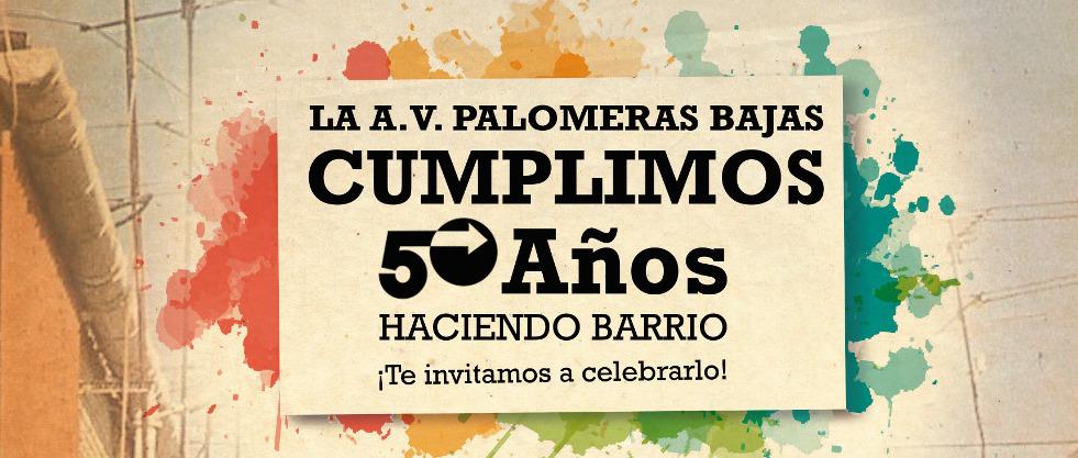 50 aniversario AV Palomeras Bajas