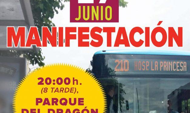 La Elipa reclama la ampliación del bus 210 hasta el hospital de La Princesa