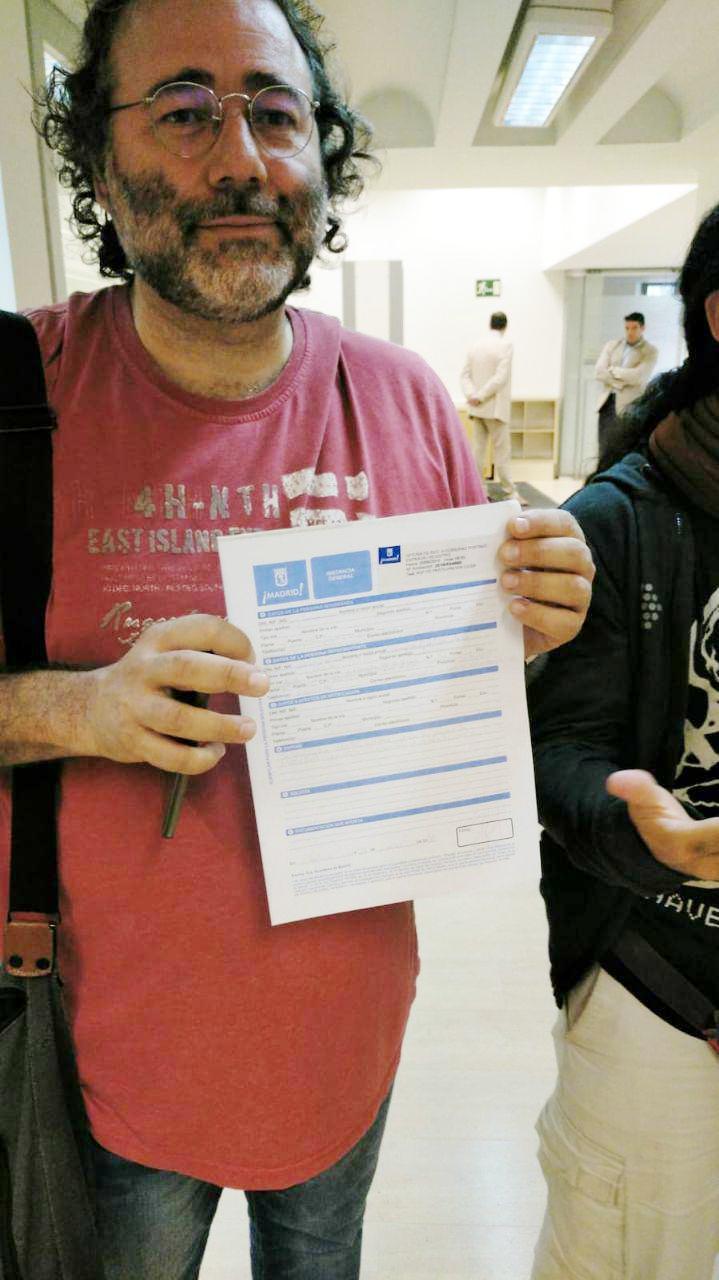 Entrega de firmas por el cierre de la incineradora de Valdemingómez 2