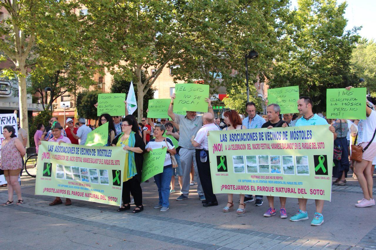 El Ayuntamiento de Móstoles rectifica y no permitirá la celebración de un macrofestival en El Soto
