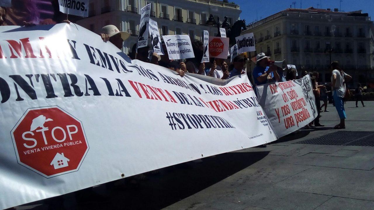 Cinco años de dignidad y lucha contra la venta de viviendas del IVIMA al fondo buitre Goldman Sachs