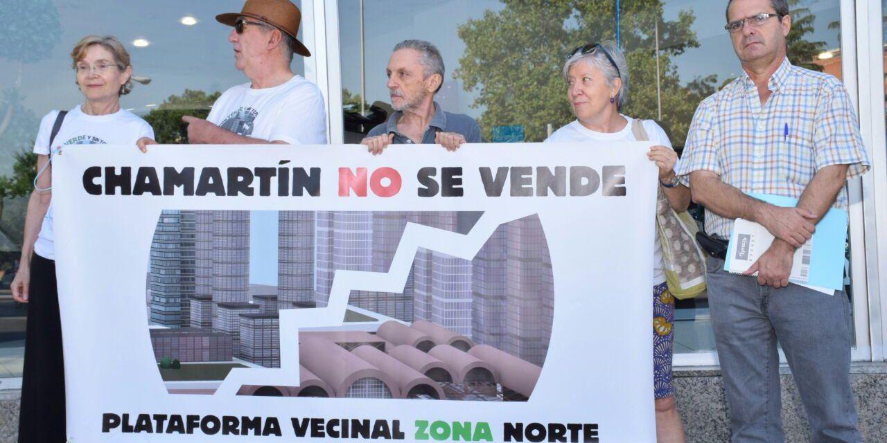 """Las asociaciones vecinales y ecologistas abandonan la Mesa Madrid Nuevo Norte para no legitimar """"una participación inexistente"""""""