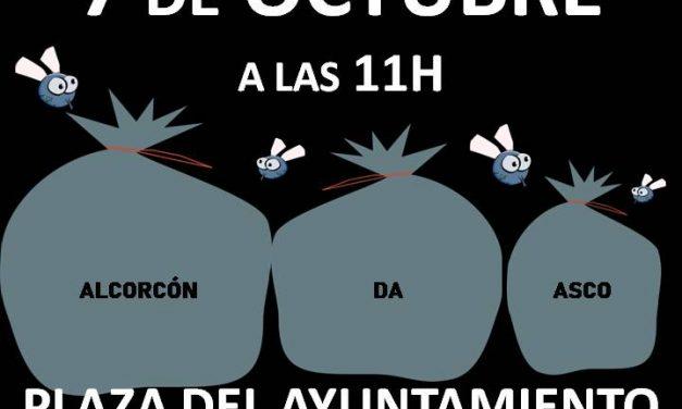 """La vecindad de Alcorcón manifiesta por una """"ciudad limpia"""""""