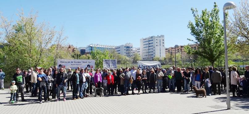 Asociaciones vecinales y AMPAs de Arganzuela piden que se destine a equipamientos públicos básicos parte de los terrenos de Adif
