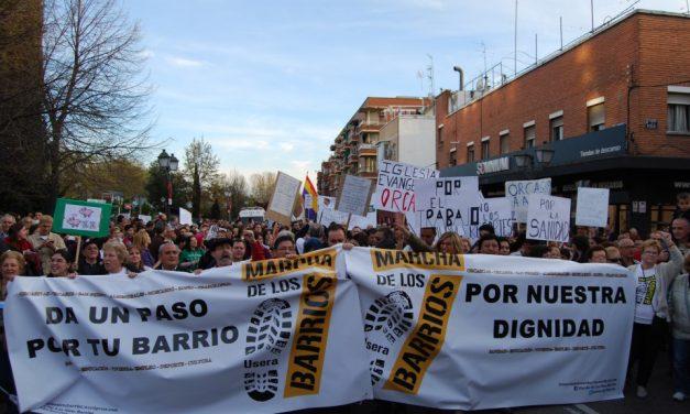 """El movimiento vecinal de Usera rechaza """"el insulto personal, la amenaza y la agresión como método para exigir demandas"""""""