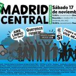 El sábado 17-N, nos movemos por Madrid Central