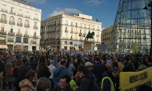 Varios cientos de personas se manifiestan en defensa de Madrid Central