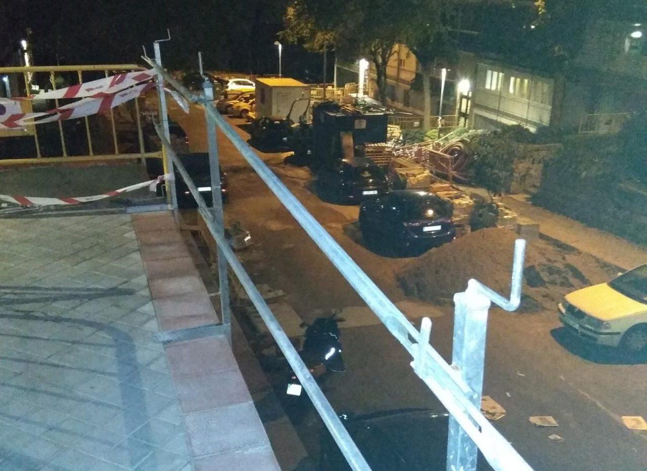 """La AV Paloma–Dehesa de la Villa pide al Ayuntamiento """"una intervención urgente"""" en las obras de la calle Aguilar de Campoo"""