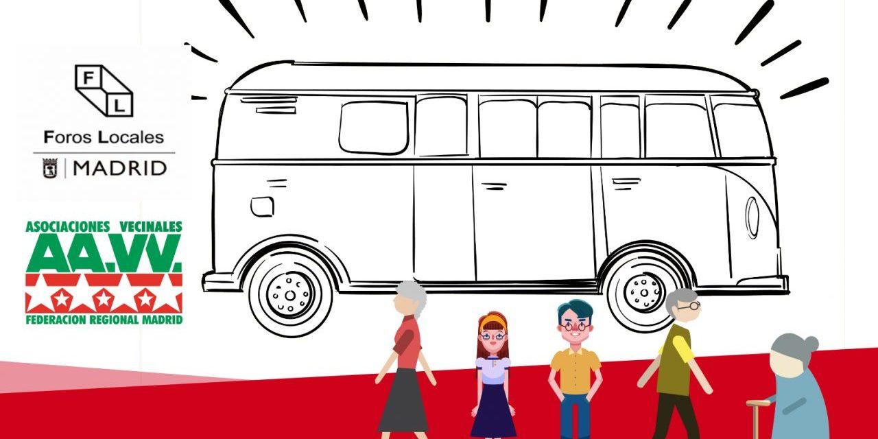 Reunión determinante en el Consorcio de Transportes para lograr un autobús que conecte los centros sanitarios y de mayores de Usera