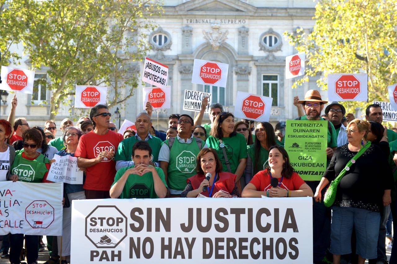 La FRAVM llama a movilizarse contra la injusta decisión del Supremo sobre las hipotecas