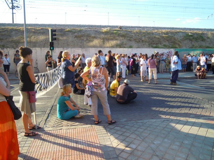 ¿Dónde quedó el acceso subterráneo al Hospital Infanta Leonor?