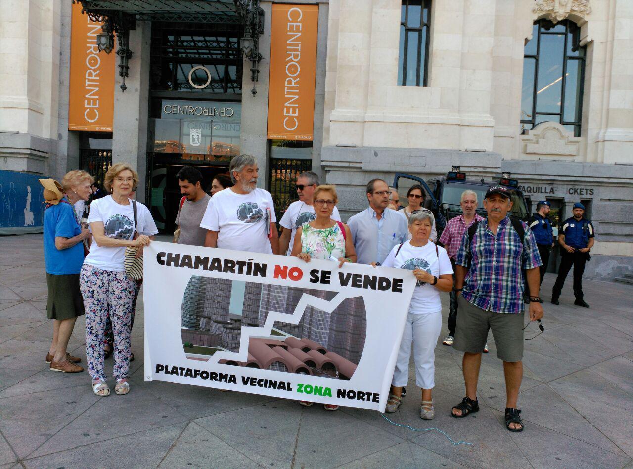 Las asociaciones vecinales y ecologistas detectan incompatibilidades en Madrid Nuevo Norte y exigen que se suspenda la tramitación