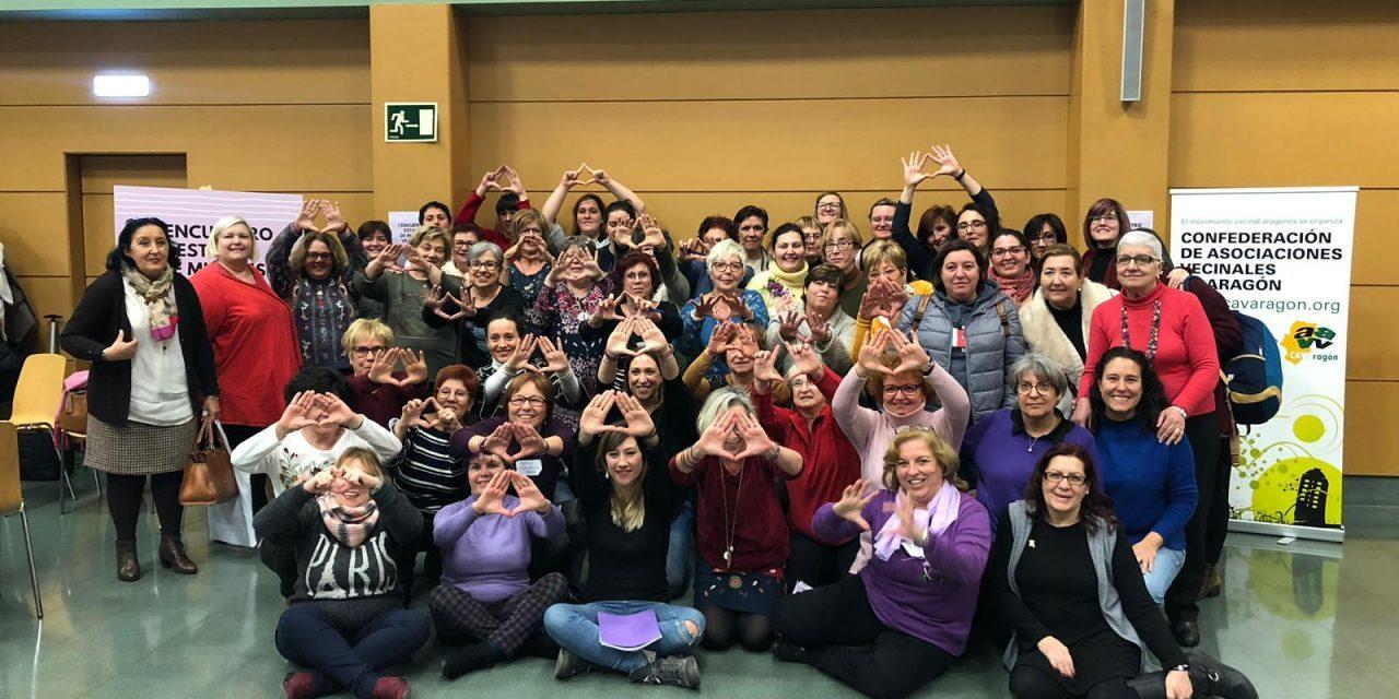 Zaragoza ve nacer una red estatal de Mujeres Vecinales