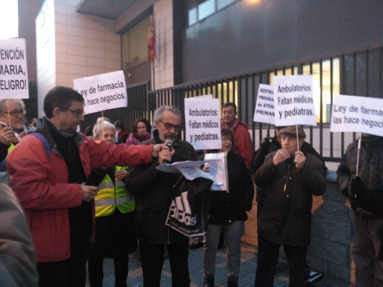 Mañana, 16 de enero, nos movemos en defensa de la Atención Primaria