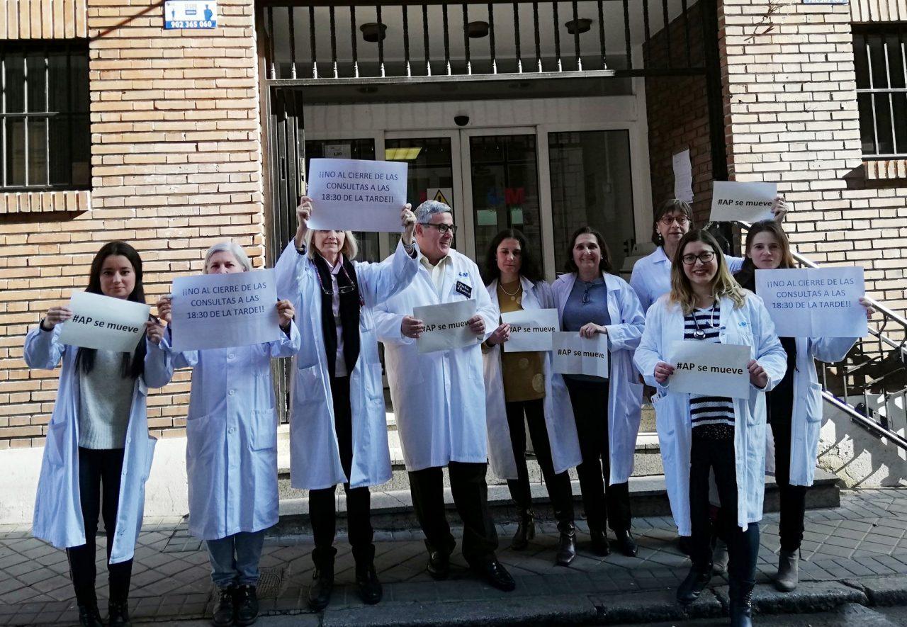 76ª Marea Blanca: ruido de cazuelas contra el recorte horario en Atención Primaria