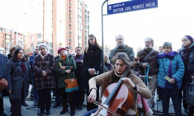 Una glorieta para honrar la vida y obra del doctor Luis Montes