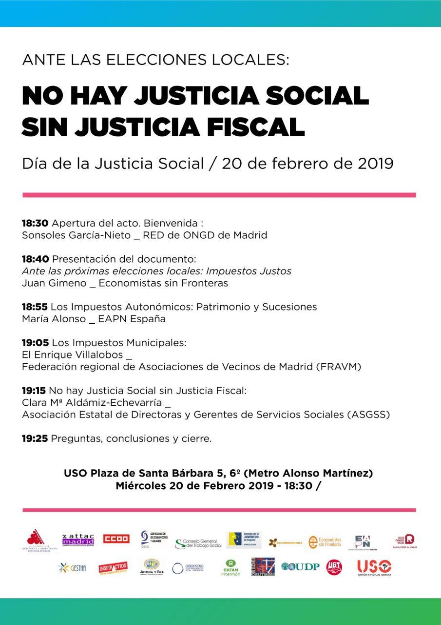Programa Acto sobre la Justicia Fiscal