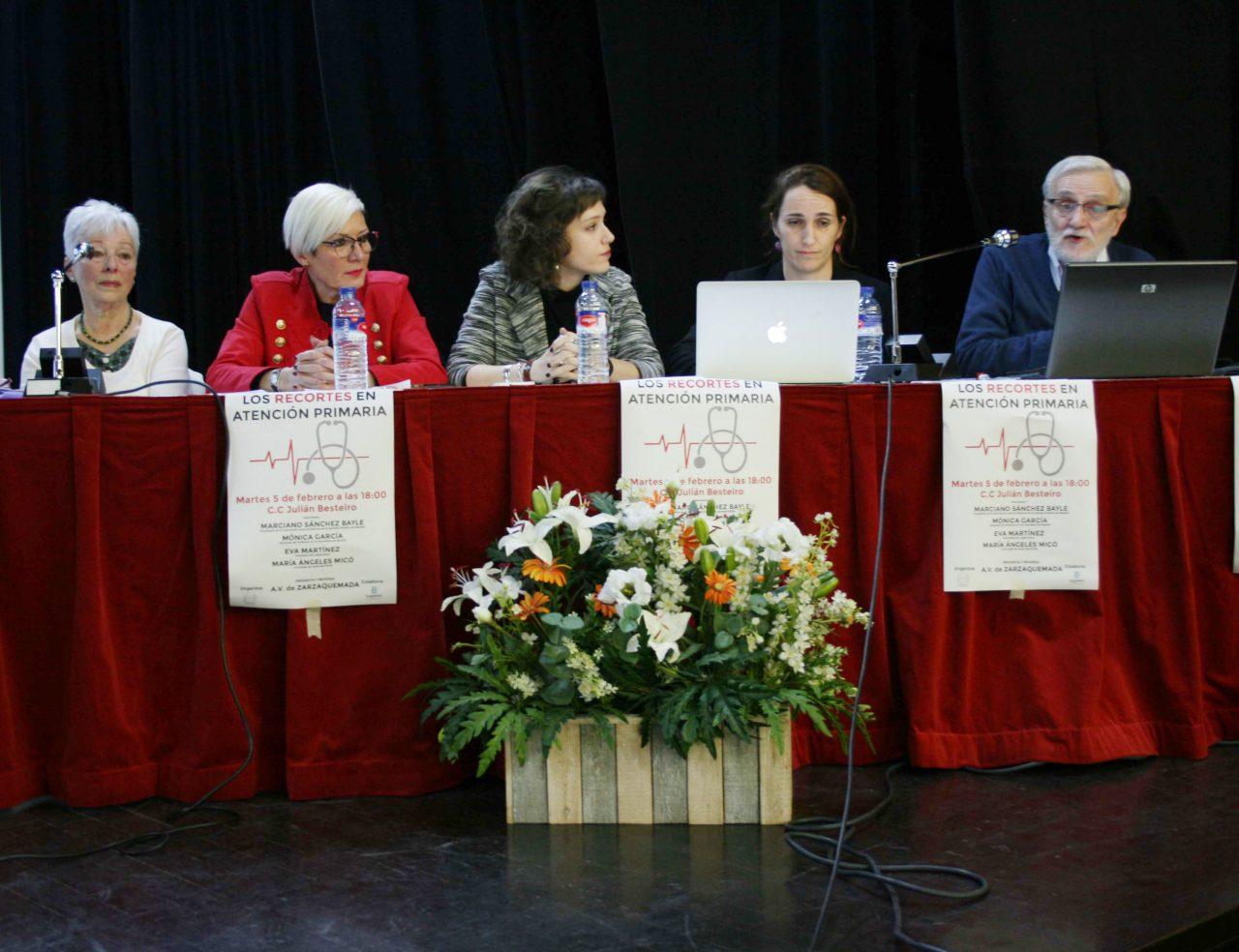 Charla Leganés sobre recorte horario en Atención Primaria