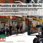 No hay dos sin tres: arranca una nueva edición de la Muestra de Vídeos de Barrio