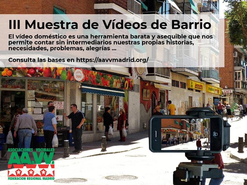 III Muestra de Vídeos de Barrio