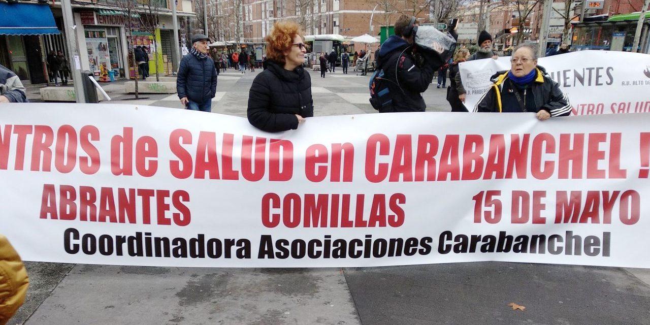 """16 años esperando tres centros de salud en Carabanchel Bajo: """"¡no queremos más demoras ni mentiras!"""""""