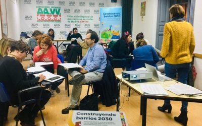 Avance de la programación de la Escuela Vecinal de la FRAVM para 2019