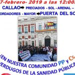 """La 77ª Marea Blanca criticará al PP y Ciudadanos por su papel de """"verdugos de la sanidad pública"""""""