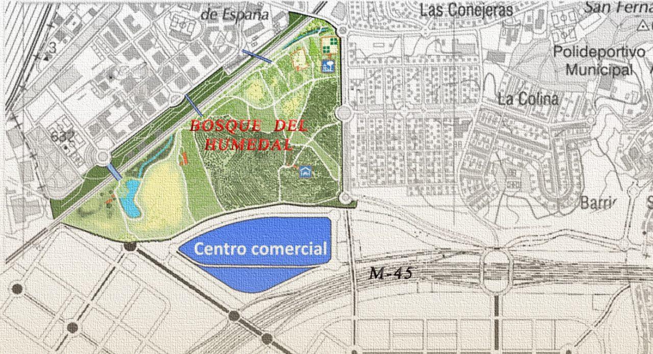 Plano Parque Comercial El Cañaveral