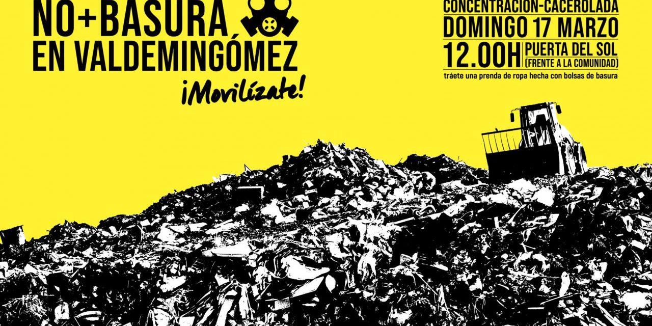 Ruido de cazuelas para evitar que Valdemingómez acoja la basura de los municipios del Henares