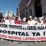 Renace la lucha por la construcción de un hospital público en los terrenos de la antigua cárcel de Carabanchel