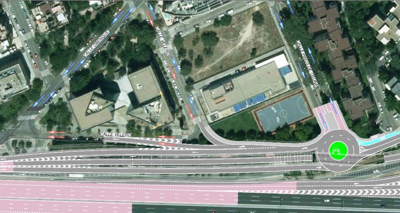 La vecindad de Barajas se mueve contra el proyecto de remodelación del nudo Eisenhower