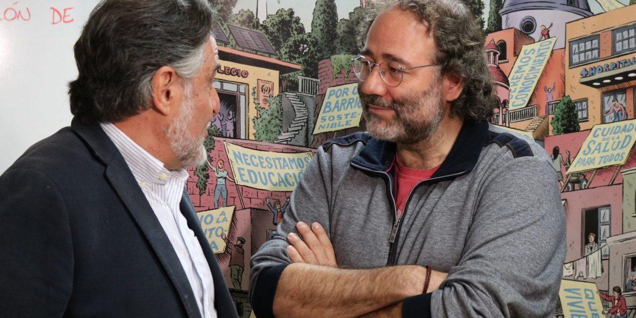 La FRAVM traslada a Pepu Hernández sus propuestas para reequilibrar la capital