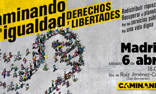 Más de 200 organizaciones se manifestarán este sábado en Madrid para pedir 'igualdad, derechos y libertades'