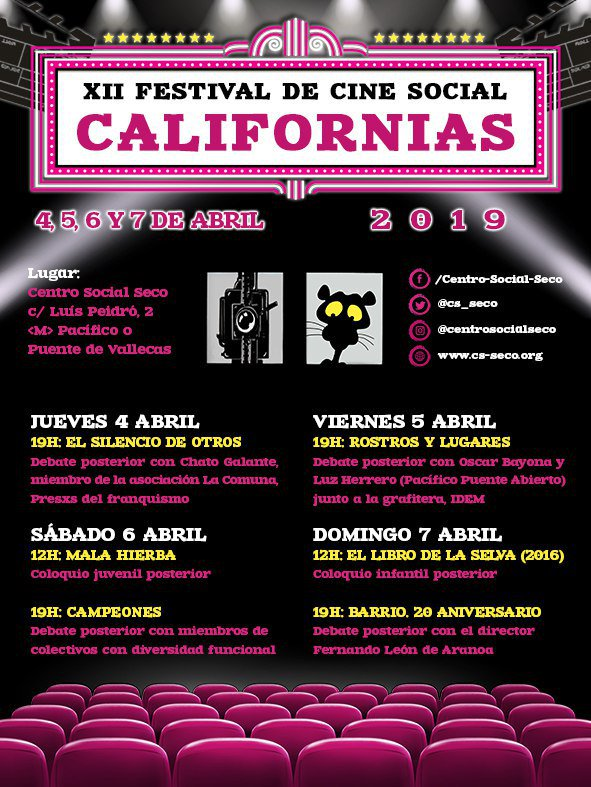 XII Festival de Cine Social de Las Californias
