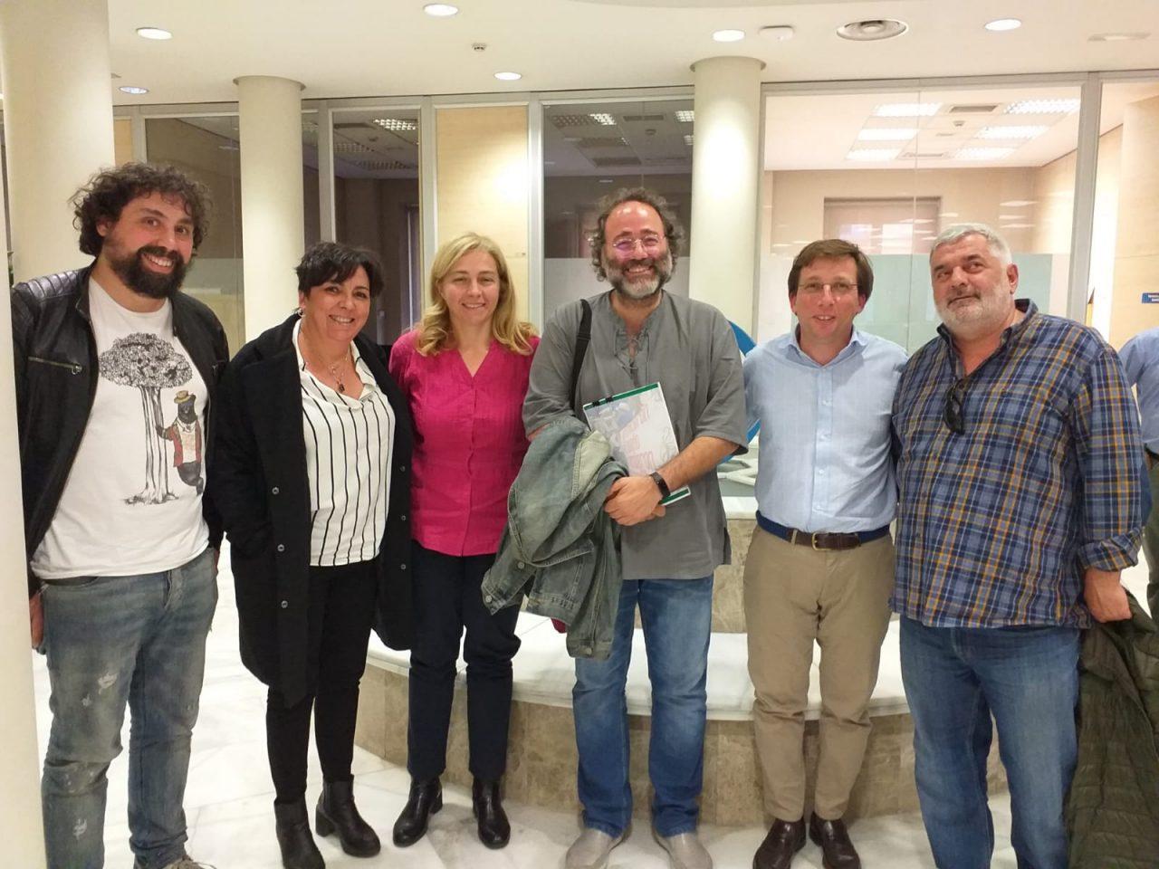 La FRAVM presenta a Martínez Almeida (PP) su batería de propuestas ante las elecciones de mayo