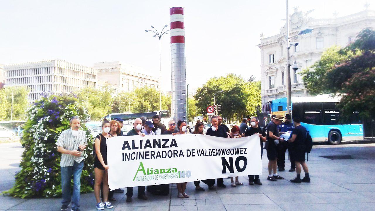 La Alianza Incineradora de Valdemingómez No pide a los partidos un compromiso con el cierre de la planta
