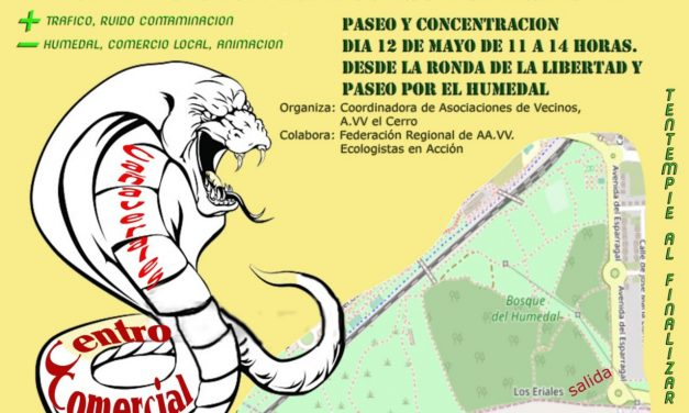 Marcha para proteger el Bosque del Humedal frente a la amenaza del Parque Comercial Solia