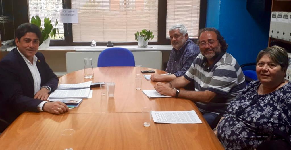 La FRAVM presenta sus propuestas a David Pérez, número dos del PP a la Comunidad de Madrid