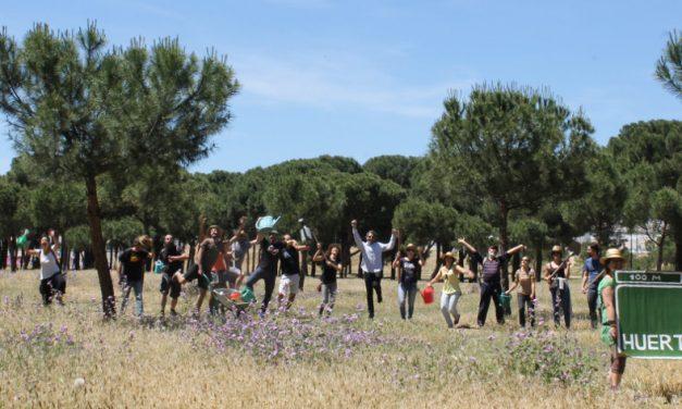 Pedimos a los partidos un mayor compromiso con los huertos comunitarios de Madrid