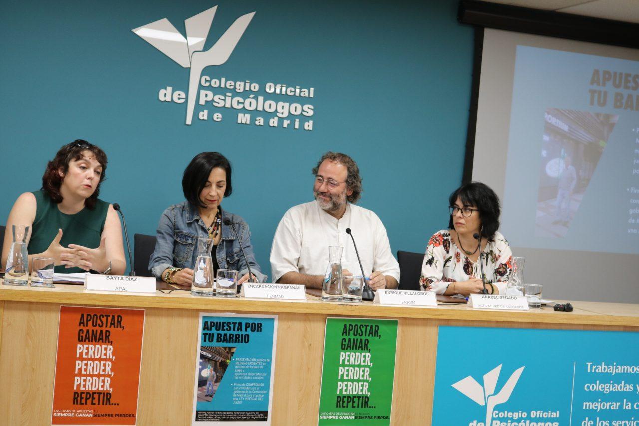 Unidas Podemos, Más Madrid y PSOE se comprometen a tramitar en la próxima legislatura una Ley Integral del Juego